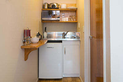Motel Kitchenette - Apartments Paradiso, Nelson New Zealand